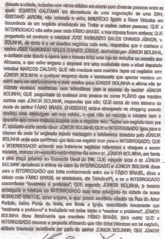 Documento extraído do blo do Luis Cardoso