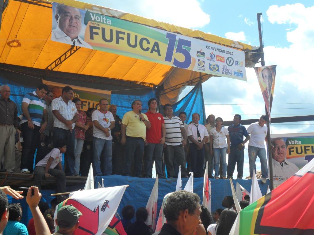 Convenção de Fufuca Dantas reune várias eleitores.