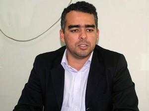 Presidente da Câmara Alderico Campos