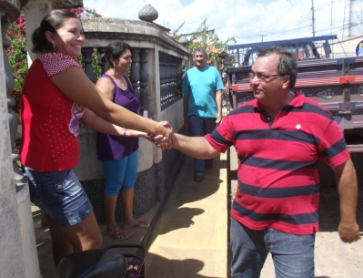 A confiança da população de Anajatuba em Eduardo Castelo Braco.