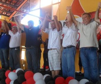 Políticos prestigiam lançamento da candidatura de Pedro Lucas Fernandes.