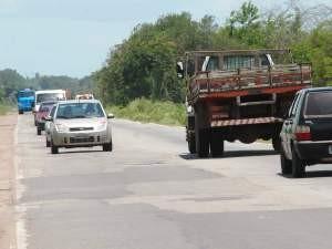 BR-135 é a campeã de acidentes no Maranhão (Foto: Douglas Júnior/O Estado)