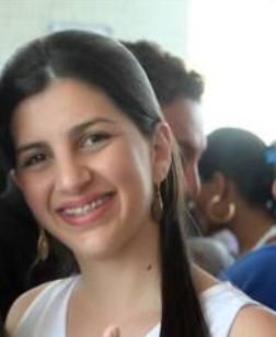 A jovem parlamentar Priscylla Sá.
