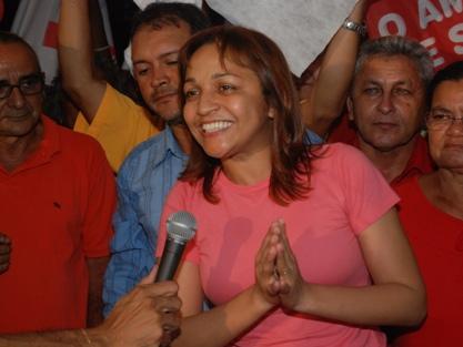 A candidata a prefeita Eliziane Gama.