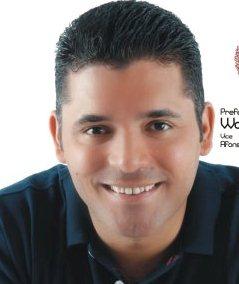 O candidato Ricardo Barros.