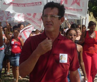Araken candidato a prefeito de Alcântara.