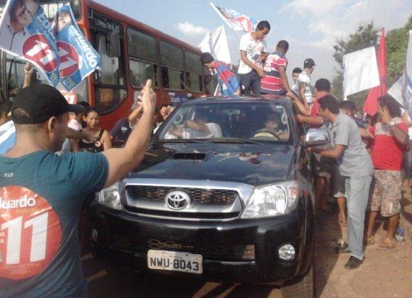 A chegada de Castelo Branco em Anajatuba.