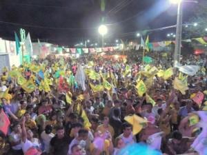 Tina reuniu milhares de pessoas, último final de semana.