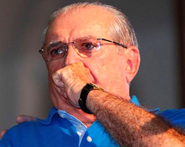 Derrotado por Edivaldo Holanda Júnior, Castelo prendeu o choro após apuração dos voto.