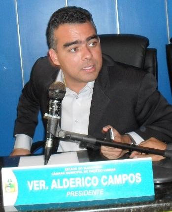 Alderico Campos é pilhado em mais outro escândalo.