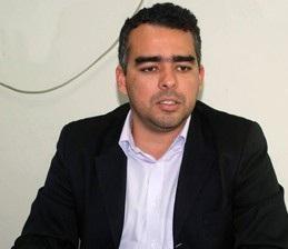 O presidente da Câmara Alderico Campos.