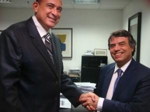Ribamar Alves e Murilo Portugal.