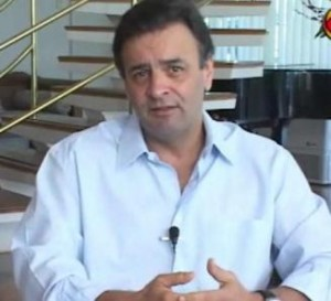 Aécio Neves.
