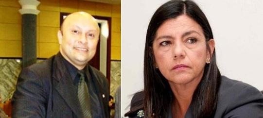 Sérgio Muniz e Roseana Sarney.