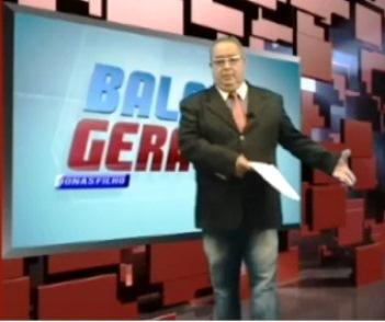 O apresentador Jonas FIlho.