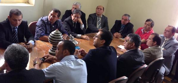 Vereadores se reúnem e anunciam Pereirinha para reeleição.