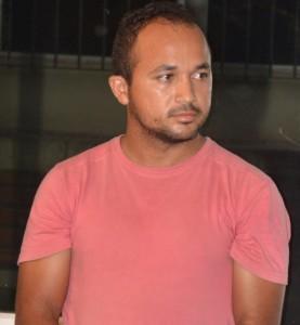Antônio Ferreira Lima Sobrinho, preso como mentor da quadrilha. Foto: Mauro Wagner/SSP
