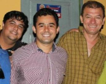 Paulim Bandeira, Eric Costa e o saudoso Aldo Andrade.