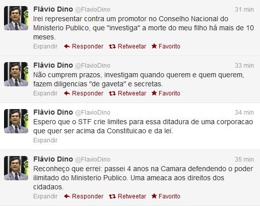 Movido por dor pessoal, presidente da Embratur fez duras críticas ao Ministério Público. Foto: Reprodução/Twitter