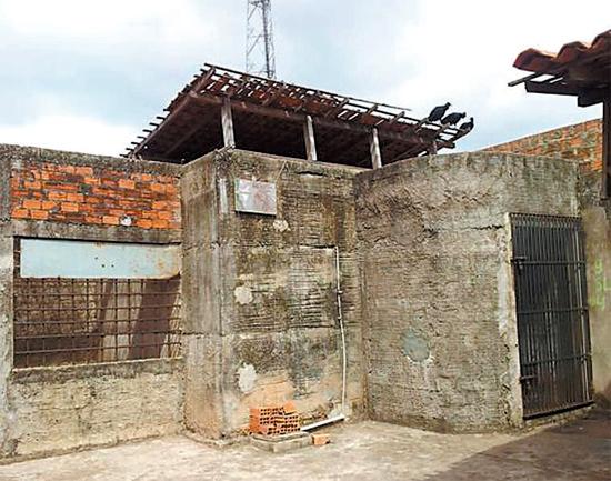 Cadeia interditada em Mirante do Norte