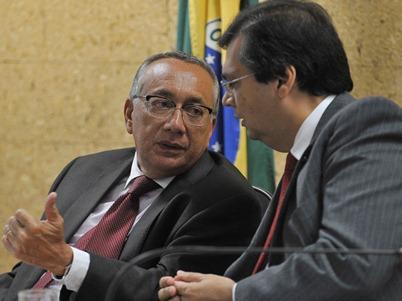 Gastão Vieira e Flávio Dino.