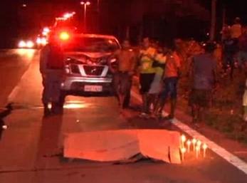 Veículo da Prefeitura mata trabalhador em BR.