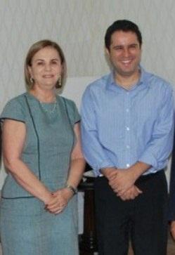 A procuradora-geral, Regia Rocha e Edivaldo Holanda Júnior.