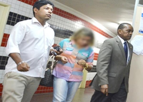 A autora dos disparos certeiros que matou o assaltante 'Piauí'. Foto: Reprodução