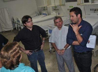 Técnicos elogiaram o funcionamento do Hospital (foto: Oswaldo Ceará).