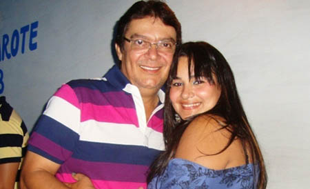 Vereador Juarez e sua esposa/ Foto Urucuí noticías
