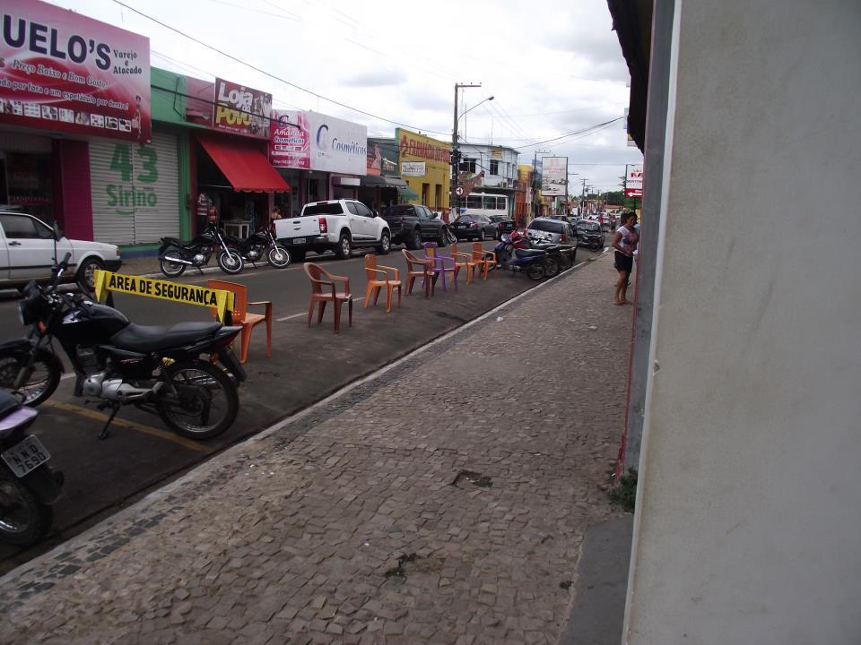 Rua do Comércio sendo privatizada