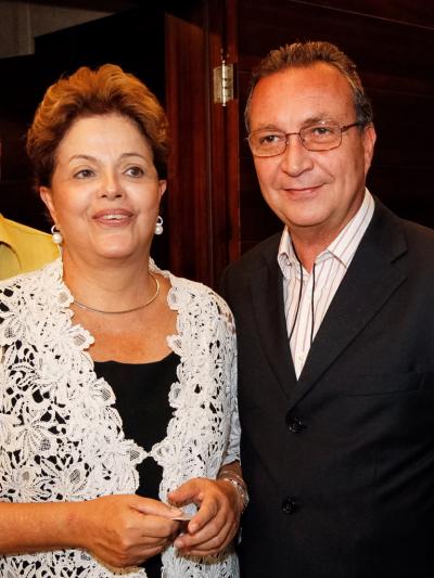 Secretario Luis Fernando com Dilma Rousseff