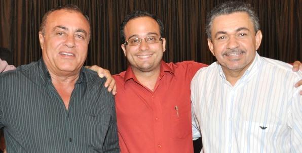 Avelar Sampaio, Leandro Avelar e Antônio Pereira.