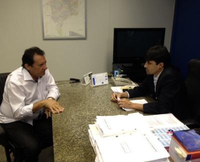 Campos recebe Zito Rolim.