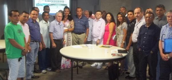Chiquinho reúne-se com representantes de cooperativas do Maranhão