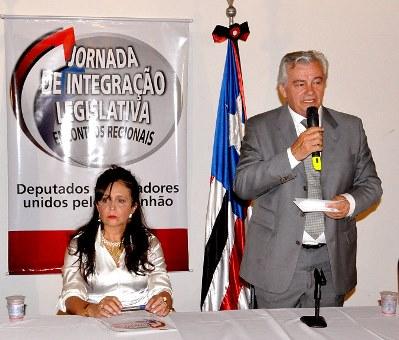 Presidente da Assembleia deputado Arnaldo Melo.