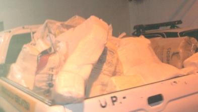 Queijo clandestino foi escondido embaixo de uma carga de milho e tinha como destino final Teresina
