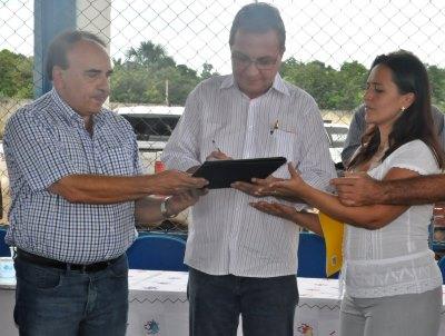 Secretário Luis Fernando assina ordem de serviço para construção da MA 125.