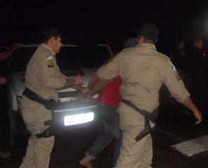 bandidos sendo presos