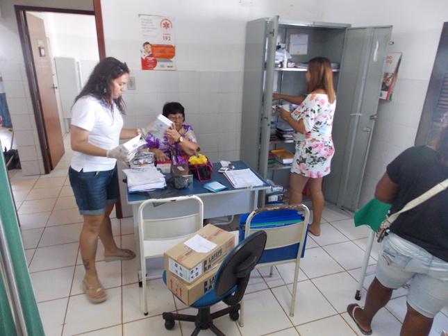 Funcionários da SEMUS irão realizar outros mutirões nas demais unidades de saúde de São José de Ribamar.