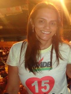 Prefeita Carmem Neto.