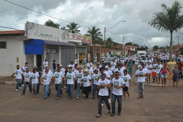 Gil Cutrim comandou uma grande mobilização popular na região das Vilas de Ribamar.
