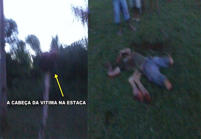 Shocking! Brazil ref stabs a player to death, fans lynch the ref & cut him up into quarters