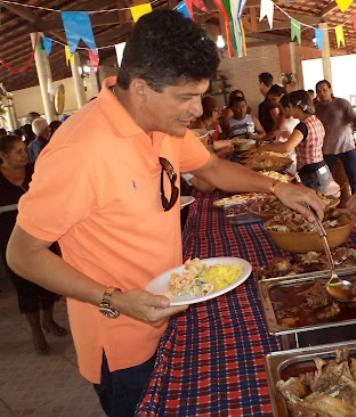 Marcos Caldas também tem fome de diárias.