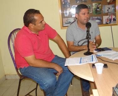 Secretário de Saúde também participou da entrevista.