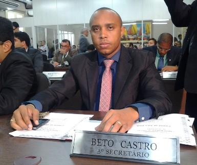 Beto Castro: vereador enrolado na Justiça.