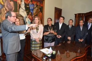 Ricardo Duailibe prometeu exercer o cargo com zelo, ética e dedicação (Foto: Ribamar Pinheiro)