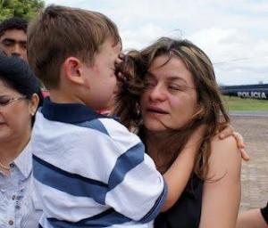 Criança sequestrada  na cidade de Imperatriz, em 2012