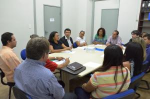 Secretário Allan Kardec recebe comissão representativa das escolas comunitárias conveniadas com a Prefeitura e o Governo Federal
