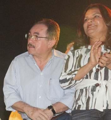 Clodomir Paz e Graça Paz. (foto divulgação).